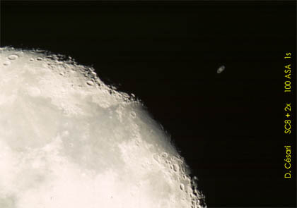occultation Saturne